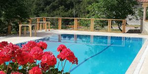 Faralia Hotel pool Faralya village Oludeniz Fethiye TURKEY