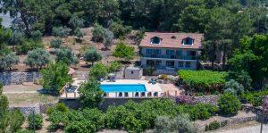 Faralia hotel Faralya village Fethiye Turkey