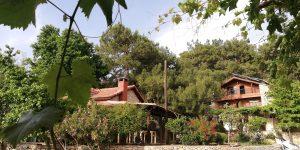 Faralia Hotel building Faralya village Oludeniz Fethiye TURKEY