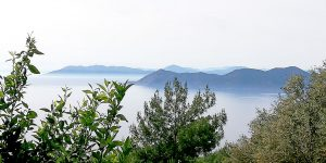 Faralia Hotel seaview Faralya village Oludeniz Fethiye TURKEY