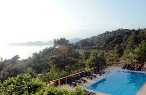 Faralia Hotel Rooms with sea and pool views